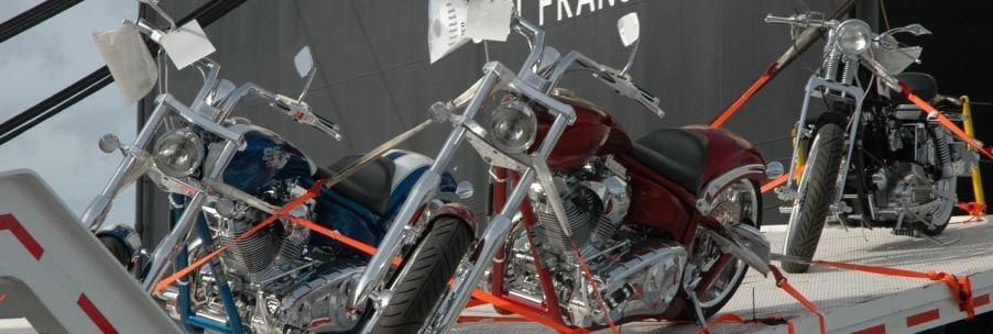 Pasha Hawaii can ship your motorcycle safe and securely between the US and Hawaii.