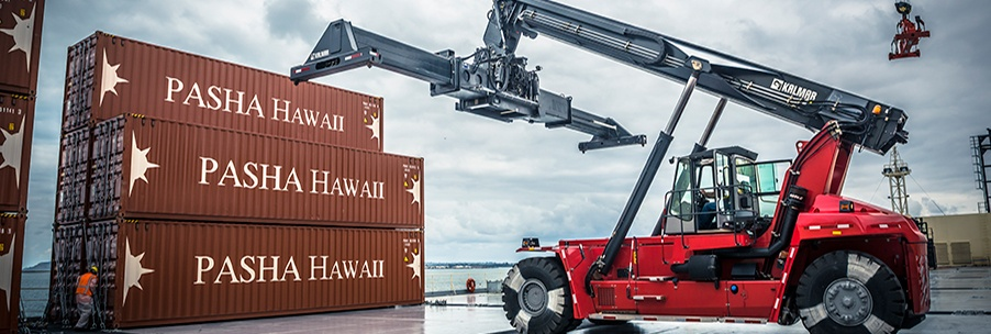 Twice-weekly container service between Los Angeles and Hawaii