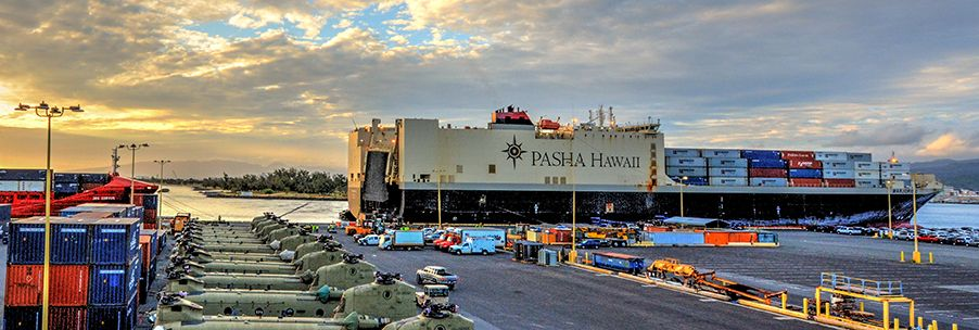 Pasha Hawaii provides the broadest scope of ocean transportation services between Hawaii and the Mainland